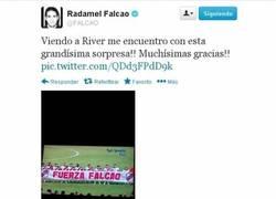 Enlace a Llegan más muestras de apoyo a Falcao, ahora desde Argentina