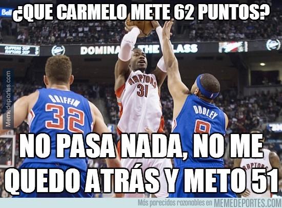 254665 - ¿Que Carmelo mete 62 puntos?