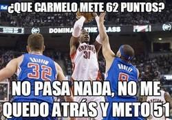 Enlace a ¿Que Carmelo mete 62 puntos?