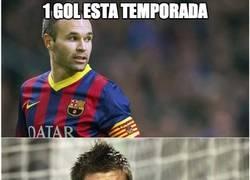 Enlace a Iniesta vs Piqué