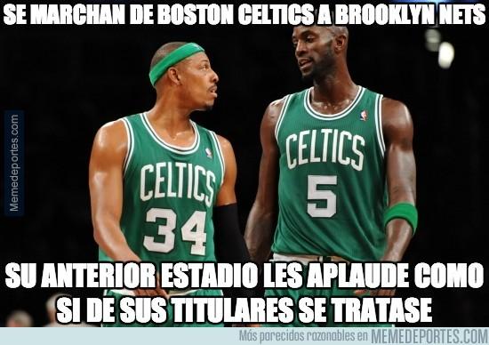 255321 - Se marchan de Boston Celtics a Brooklyn Nets