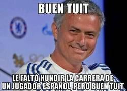 Enlace a Mientras tanto, Mourinho en twitter...