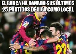 Enlace a El Barça ha ganado sus últimos 25 partidos de Liga como local