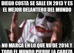 Enlace a Diego Costa se sale en 2013 y es el mejor delantero del mundo