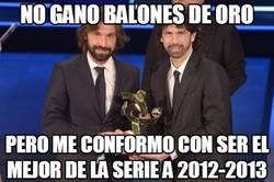Enlace a Pirlo, mejor jugador de la Serie A 2012/13