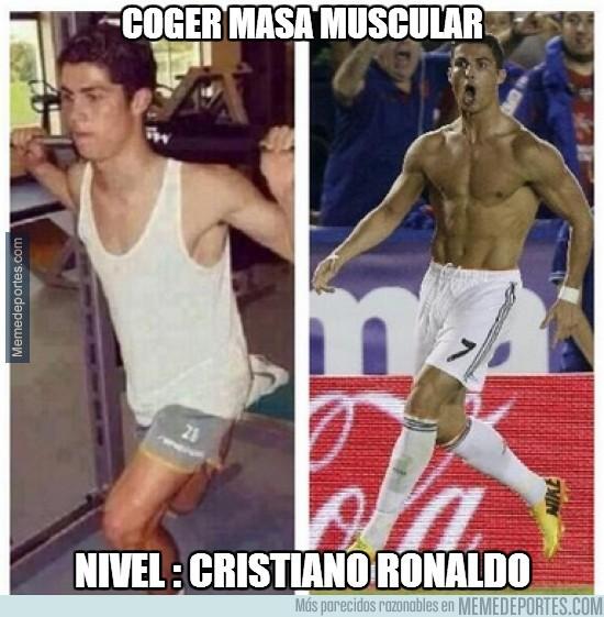 256447 - Coger masa muscular