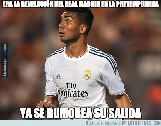 256456 - Era la revelación del Real Madrid en la pretemporada