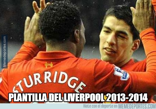 256477 - Plantilla del Liverpool 2013/14