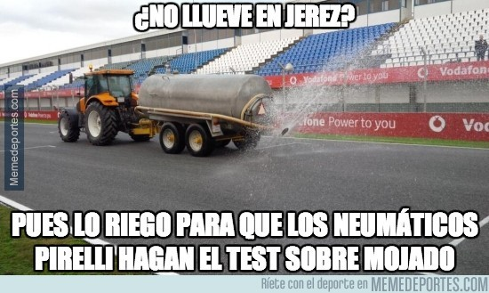 256550 - ¿No llueve en Jerez?