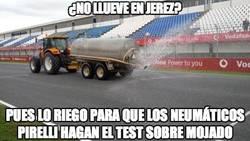 Enlace a ¿No llueve en Jerez?