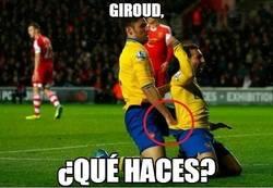 Enlace a Giroud, ¿qué haces?