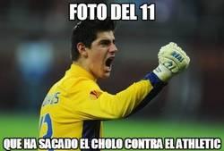 Enlace a Foto del 11 del Atlético