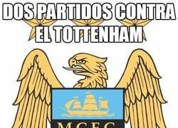 Enlace a Dos partidos contra el Tottenham