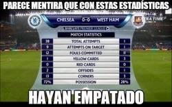 Enlace a 38 disparos del Chelsea, 0 goles