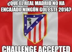Enlace a ¿Que el Real Madrid no ha encajado ningún gol este 2014?