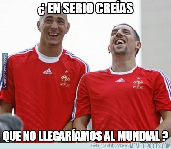 257422 - Benzema y Ribery absueltos... Qué sorpresa