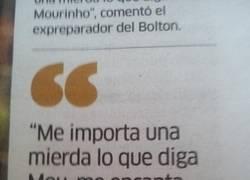 Enlace a Declaraciones de Adrián, el portero español del West Ham en respuesta a Mou #Con2Cojones