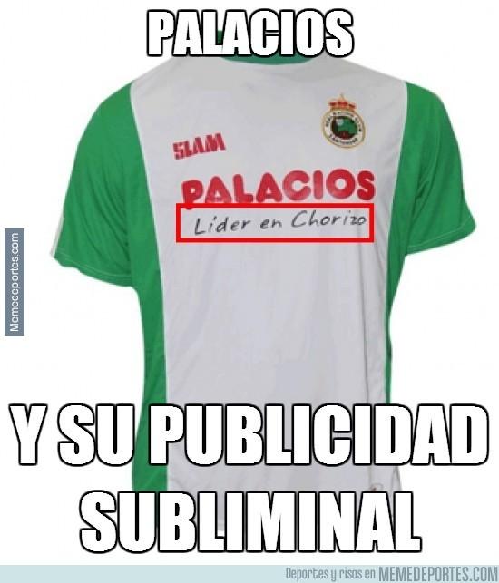 257891 - Publicidad subliminal en la camiseta del Racing #ÁnimoRacing