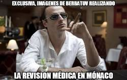 Enlace a Exclusiva, imágenes de Berbatov pasando revisión médica
