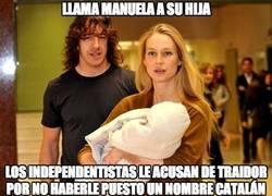 Enlace a Llama Manuela a su hija