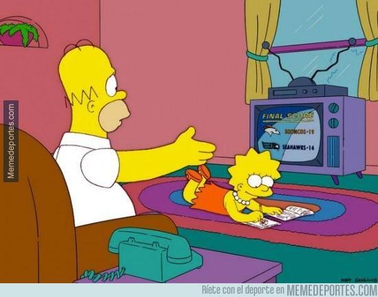 258368 - En 2004, Los Simpson predijeron el resultado de la Super Bowl XLVIII