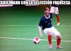 Enlace a Griezmann con la selección francesa