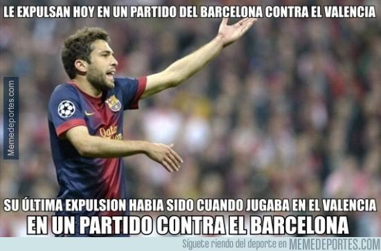 258808 - Los partidos Barça-Valencia no te sientan bien, Jordi