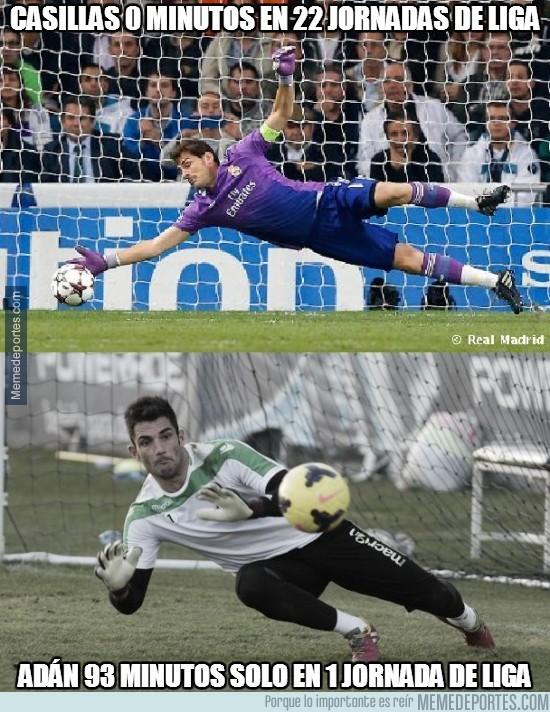 259286 - Casillas 0 minutos en 22 jornadas de Liga
