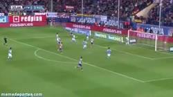 Enlace a GIF: El Atlético llama al liderato, gol del guaje Villa a la Real Sociedad