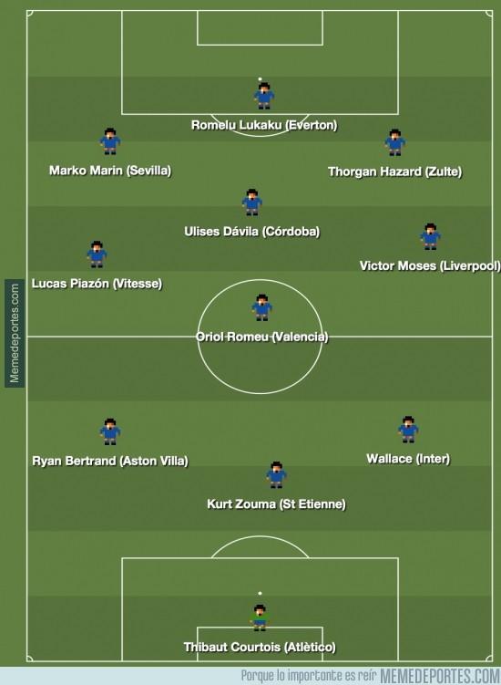 259897 - 11 ideal de jugadores cedidos que pertenecen al Chelsea