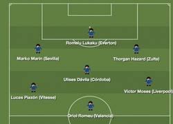 Enlace a 11 ideal de jugadores cedidos que pertenecen al Chelsea