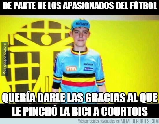 260050 - Courtois iba para ciclista