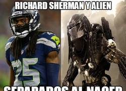 Enlace a Richard Sherman y Alien