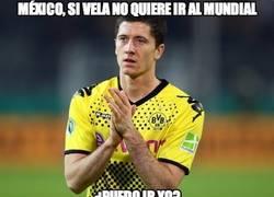 Enlace a México, si Vela no quiere ir al mundial...