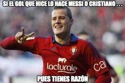 Enlace a Si el gol que marqué lo hace Messi o Cristiano...