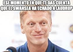 Enlace a Ese momento en que te das cuenta que el Swansea ha echado a Laudrup