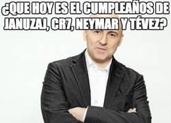 Enlace a ¿Que hoy es el cumpleaños de Januzaj, CR7, Neymar y Tévez?