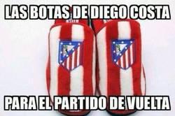 Enlace a Diego Costa verá el partido de vuelta desde casa
