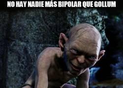 Enlace a No hay nadie más bipolar que Gollum