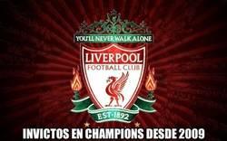 Enlace a Muy grande lo del Liverpool en Champions