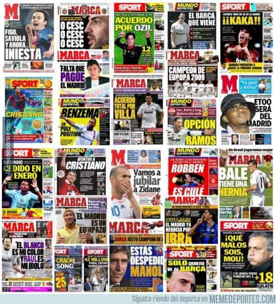 262073 - Grandes hits de la prensa deportiva española. Volumen I