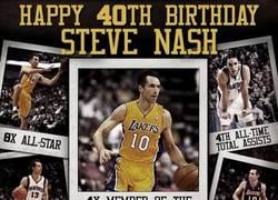 Enlace a ¡Felices 40 años Steve Nash!