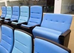Enlace a Sillas dobles para gente obesa en los estadios del Mundial 2014