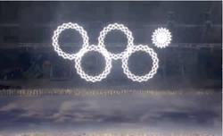 Enlace a GIF: Failaco durante la ceremonia de inauguración de los JJ.OO. de invierno de Sochi
