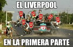Enlace a El Liverpool en la primera parte