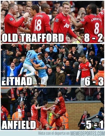 262633 - Arsenal, goleado en todos los estadios