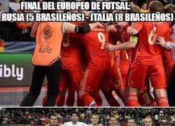 Enlace a Final del europeo de futsal