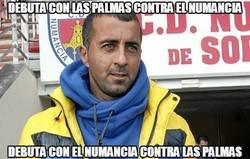 Enlace a Numancia - Las Palmas, Las Palmas - Numancia