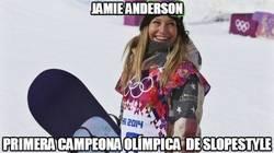 Enlace a Jamie Anderson