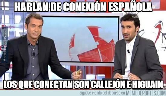 263516 - Hablan de conexión española